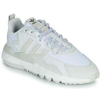 鞋子 球鞋基本款 Adidas Originals 阿迪达斯三叶草 NITE JOGGER 白色