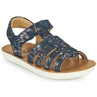 鞋子 女孩 凉鞋 SHOO POM by Pom d'Api GOA SPART 蓝色