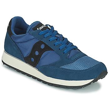 鞋子 男士 球鞋基本款 Saucony JAZZ VINTAGE 蓝色 / 黑色