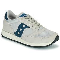 鞋子 球鞋基本款 Saucony JAZZ VINTAGE 米色 / 海蓝色
