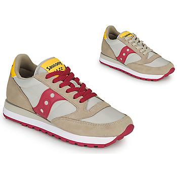 鞋子 女士 球鞋基本款 Saucony JAZZ ORIGINAL 米色 / 红色