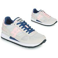鞋子 女士 球鞋基本款 Saucony SHADOW ORIGINAL 灰色 / 玫瑰色 / 蓝色