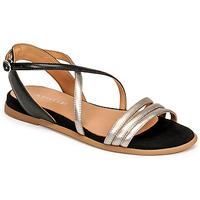 鞋子 女士 凉鞋 Adige IDIL V2 CENTURY ACERO 银灰色