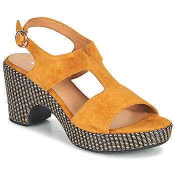 鞋子 女士 凉鞋 Adige ROMA V7 UNER SAFRAN 棕色
