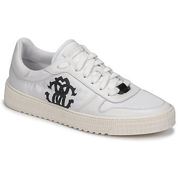 鞋子 男士 球鞋基本款 Roberto Cavalli 罗伯特·卡沃利 GEL 白色