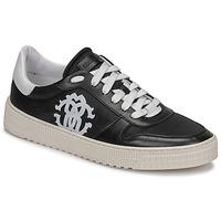 鞋子 男士 球鞋基本款 Roberto Cavalli 罗伯特·卡沃利 GEL 黑色