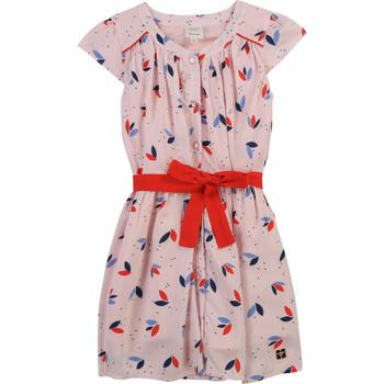 衣服 女孩 短裙 Carrément Beau Y12246-44L 玫瑰色