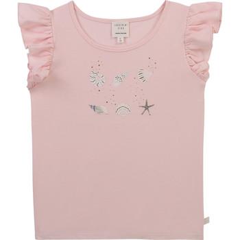 衣服 女孩 短袖体恤 Carrément Beau Y15378-44L 玫瑰色
