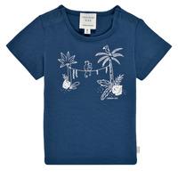 衣服 男孩 短袖体恤 Carrément Beau Y95274-827 海蓝色