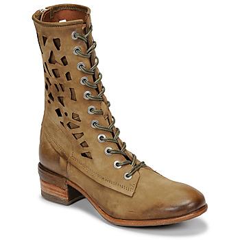 鞋子 女士 短筒靴 Airstep / A.S.98 GIVE HIGH 卡其色