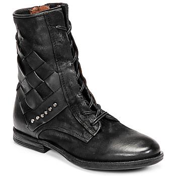 鞋子 女士 短筒靴 Airstep / A.S.98 ZEPORT TRESSE 黑色