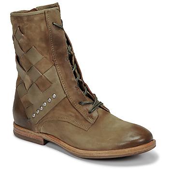 鞋子 女士 短筒靴 Airstep / A.S.98 ZEPORT TRESSE 卡其色