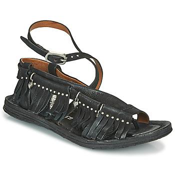 鞋子 女士 凉鞋 Airstep / A.S.98 RAMOS FRANGE 黑色