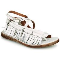 鞋子 女士 凉鞋 Airstep / A.S.98 RAMOS FRANGE 白色