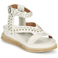 鞋子 女士 凉鞋 Airstep / A.S.98 LAGOS STUD 灰色 / 米色