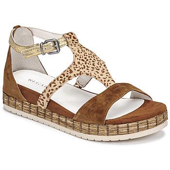 鞋子 女士 凉鞋 Regard CASSIS 棕色