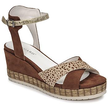 鞋子 女士 凉鞋 Regard DOUAI 棕色