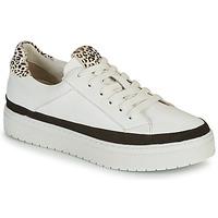 鞋子 女士 球鞋基本款 Regard HENIN 白色 / 黑色