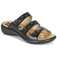 鞋子 女士 休闲凉拖/沙滩鞋 Romika IBIZA 66 黑色