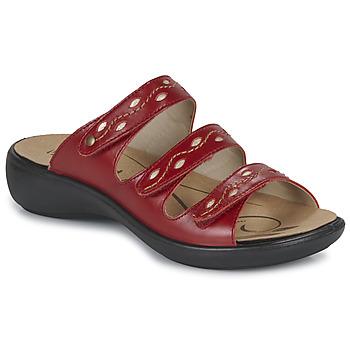 鞋子 女士 休闲凉拖/沙滩鞋 Romika IBIZA 66 红色