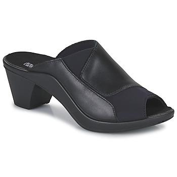 鞋子 女士 休闲凉拖/沙滩鞋 Romika ST TROPEZ 244 黑色