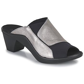 鞋子 女士 休闲凉拖/沙滩鞋 Romika ST TROPEZ 244 黑色 / 金色