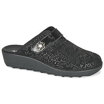鞋子 女士 拖鞋 Romika GINA 110 黑色