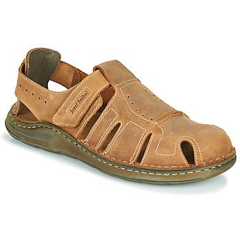 鞋子 男士 凉鞋 Josef Seibel MAVERICK 01 棕色
