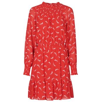 衣服 女士 短裙 Michael by Michael Kors SIGNATRE LOGO SMCK DR 红色