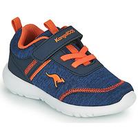 鞋子 男孩 球鞋基本款 Kangaroos KY-CHUMMY EV 蓝色 / 橙色