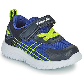 鞋子 男孩 球鞋基本款 Kangaroos KI-TWEE EV 蓝色 / 绿色