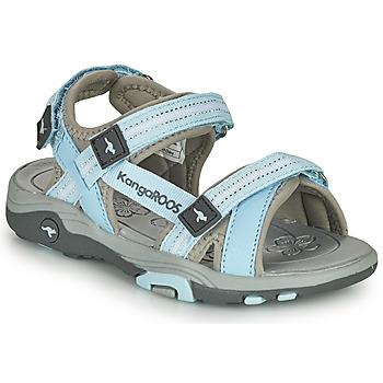 鞋子 儿童 凉鞋 Kangaroos K-LENI 蓝色 / 灰色