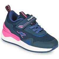 鞋子 女孩 球鞋基本款 Kangaroos KD-GYM EV 蓝色 / 玫瑰色