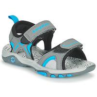鞋子 儿童 凉鞋 Kangaroos K-MONT 灰色 / 蓝色