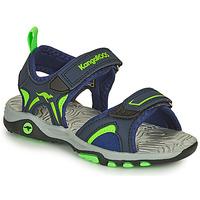 鞋子 男孩 凉鞋 Kangaroos K-MONT 蓝色 / 绿色