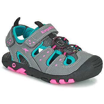 鞋子 女孩 凉鞋 Kangaroos K-TREK 灰色 / 蓝色