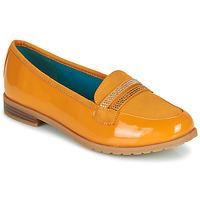鞋子 女士 皮便鞋 Damart 64847 棕色