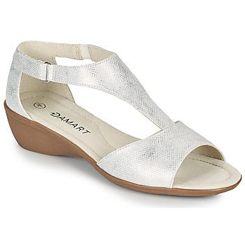 鞋子 女士 凉鞋 Damart 49019 银灰色