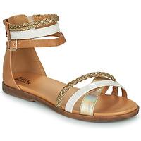 鞋子 女孩 凉鞋 Bullboxer ALM013F1S-GOLD 棕色