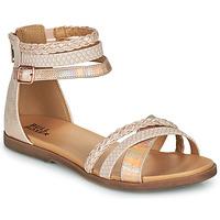 鞋子 女孩 凉鞋 Bullboxer ALM013F1S-ROGO 玫瑰色