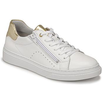鞋子 女孩 球鞋基本款 Bullboxer AOP000E5L-WHPN 白色