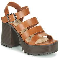 鞋子 女士 凉鞋 Emmshu DITA 棕色