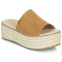鞋子 女士 休闲凉拖/沙滩鞋 Emmshu NELIE 棕色