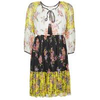 衣服 女士 短裙 Derhy SARDAIGNE 黑色 / 白色 / 黄色