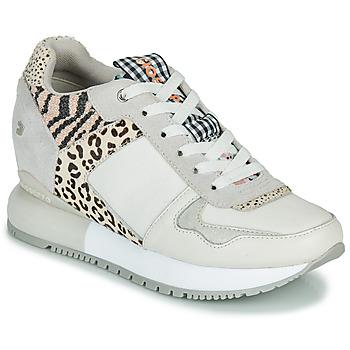 鞋子 女士 球鞋基本款 Gioseppo OVERLAND 白色 / 黑色