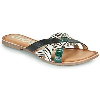 鞋子 女士 休闲凉拖/沙滩鞋 Gioseppo STILES 黑色 / 白色