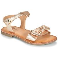 鞋子 女孩 凉鞋 Gioseppo CLEBER 玫瑰色 / 金色