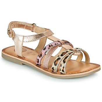 鞋子 女孩 凉鞋 Gioseppo PALMYRA 玫瑰色 / 金色