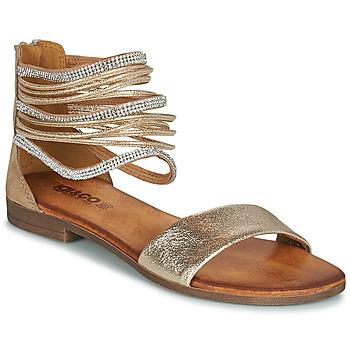 鞋子 女士 凉鞋 Primigi (adulte) BRONIA 金色 / 棕色