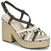 鞋子 女士 凉鞋 Menbur BALMUCCIA 黑色 / 白色